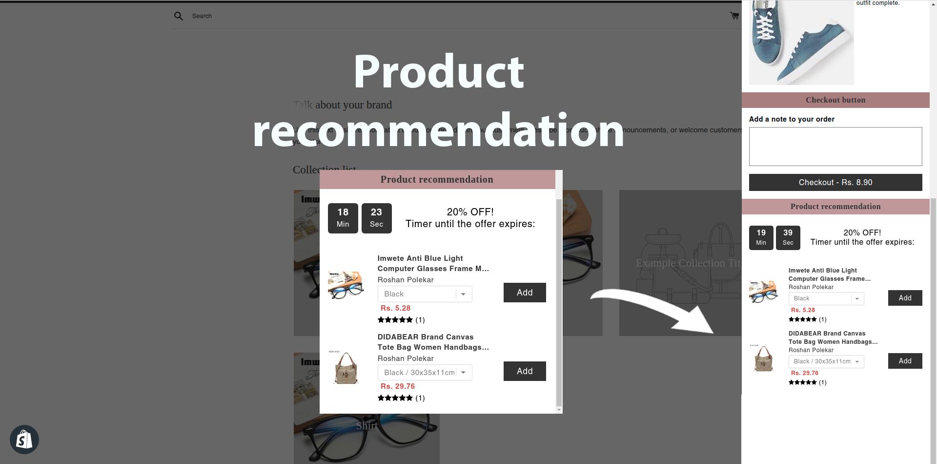 product-recommendation-widget