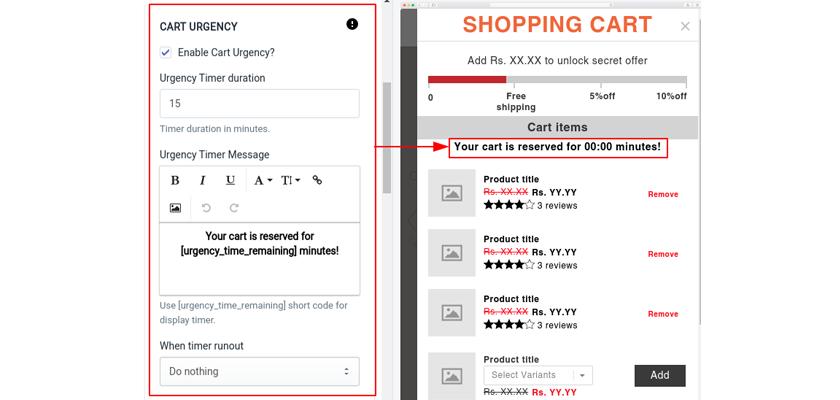 Cart-Urgency