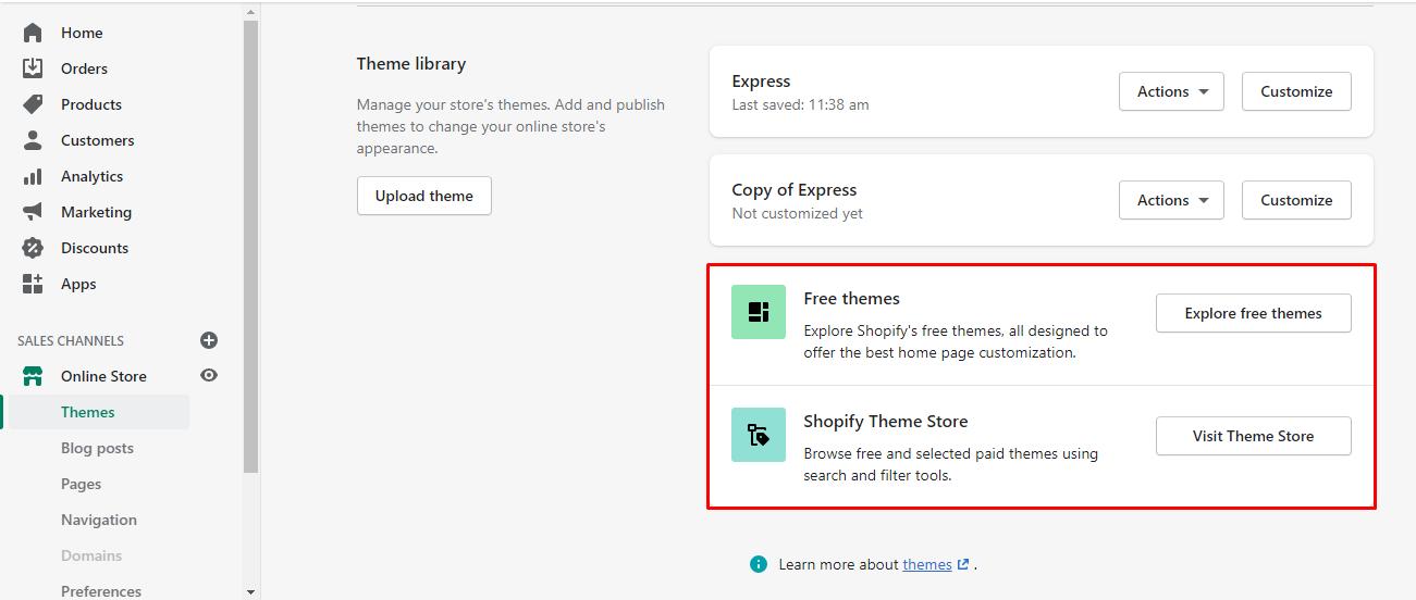 explore-shopify-themes