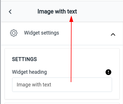 widget-heading
