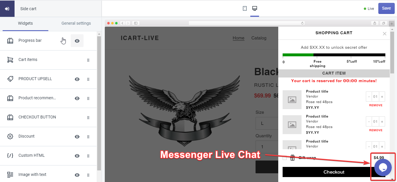 messenger-live-chat