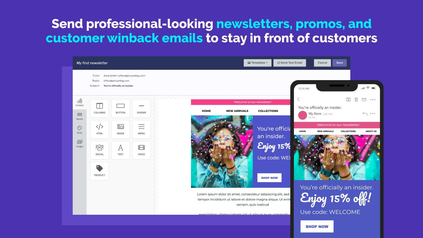 privy-email-marketing-app