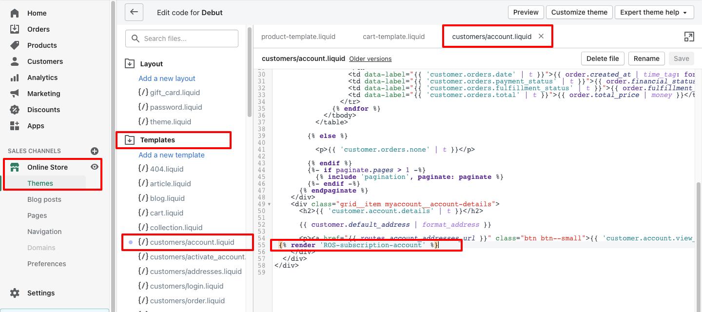 ROS - Install Code Customer