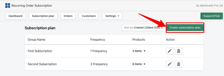 ROS - Create Subscription Button