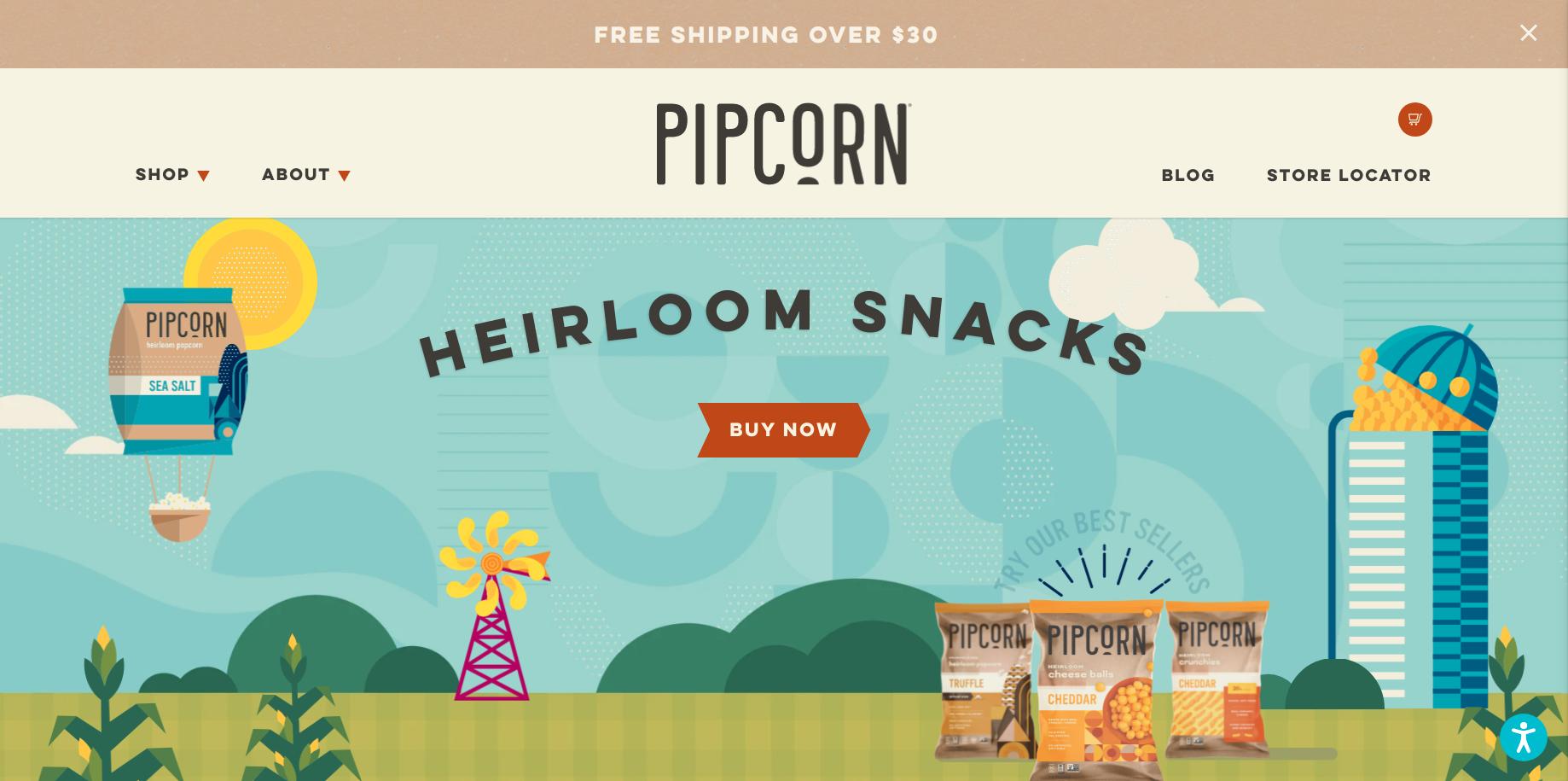 pipcorn-store