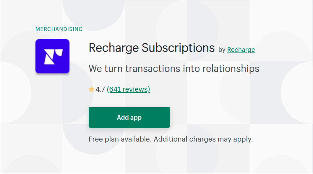 recharge-subscriptions