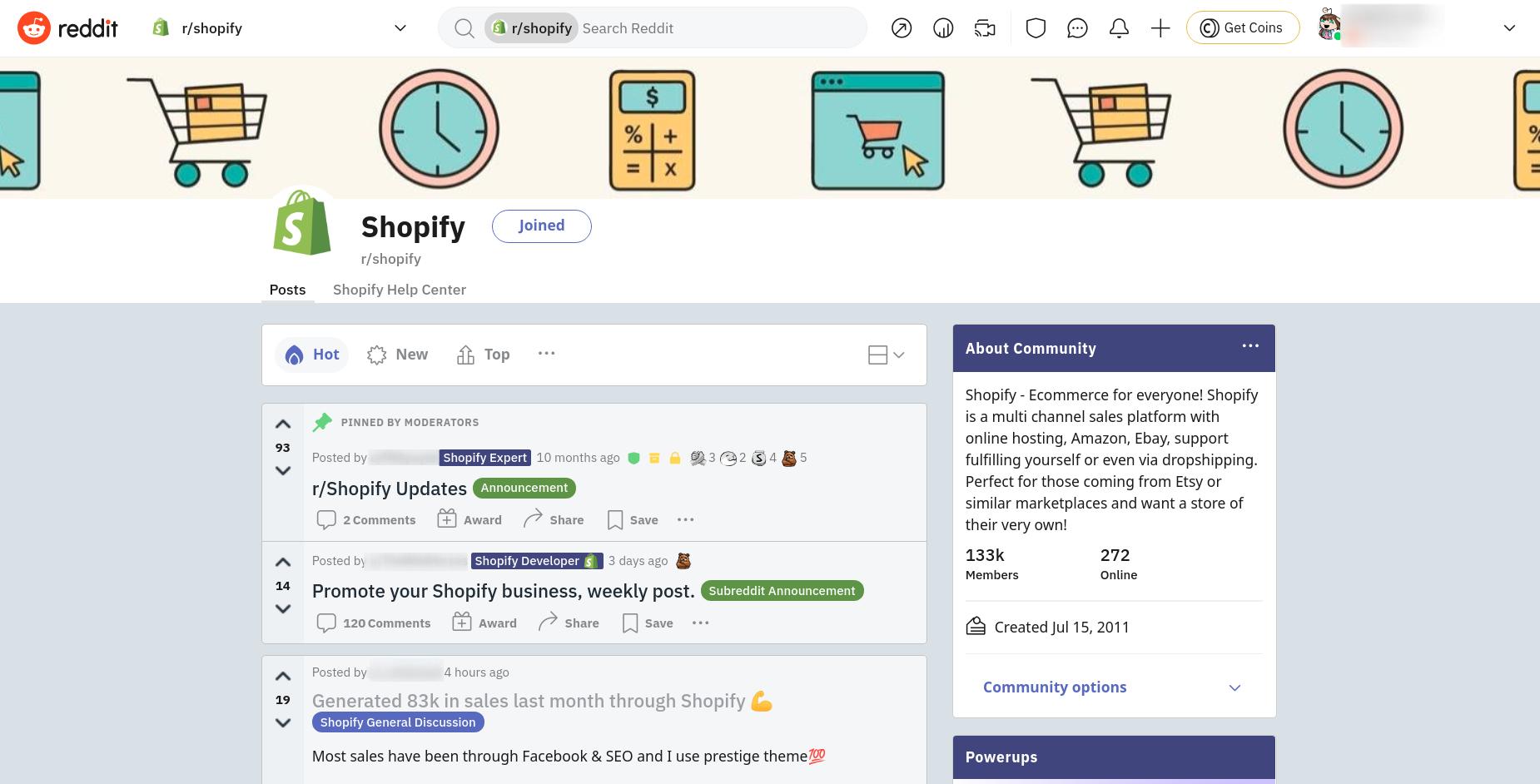 shopify-subreddit