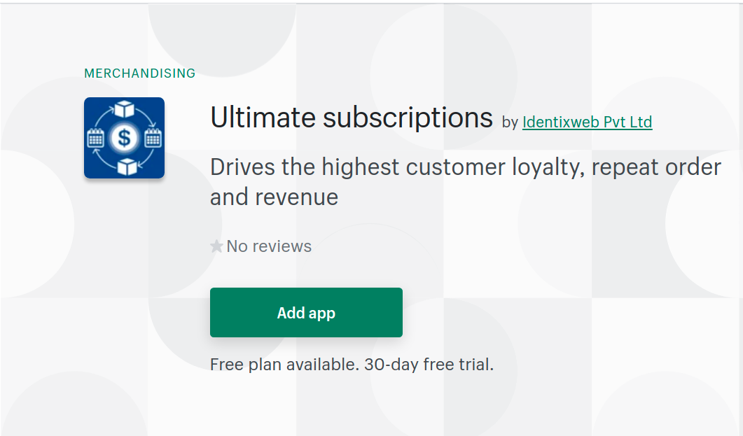 ultimate subscriptions