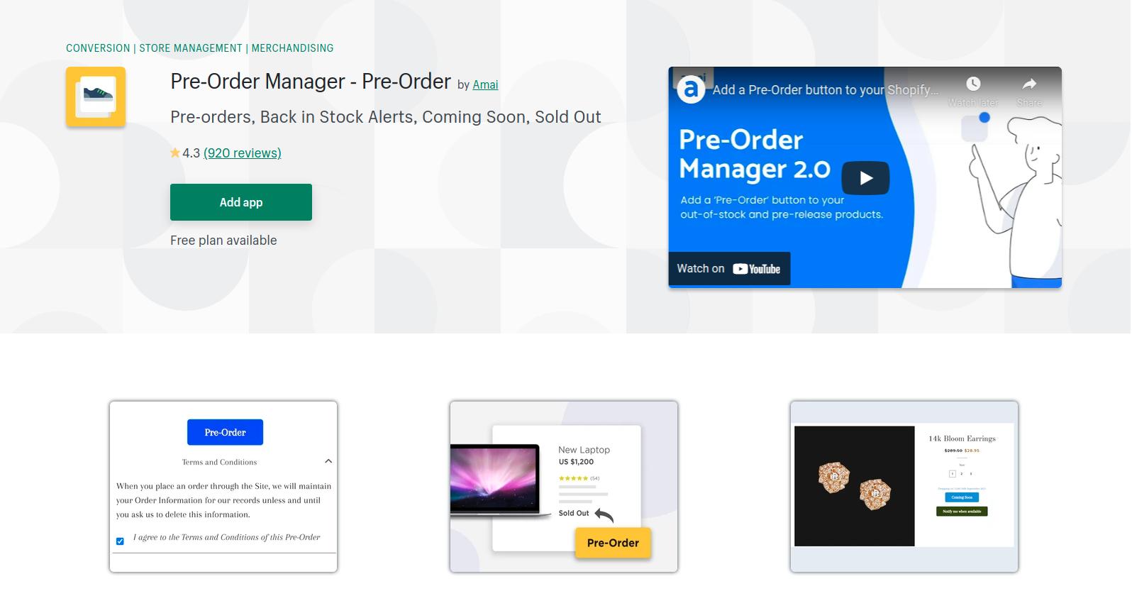 pre-order-manager-app